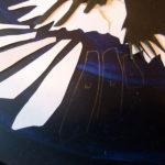detalj Fågelbo i process / Detail vom Vogelnest im Prozess